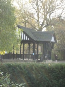Broomfield's bandstand