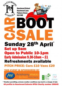 Car Boot Sale flyer